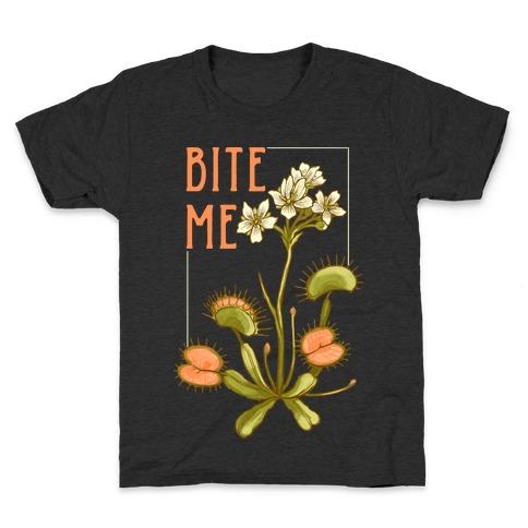 Bite Me Venus Flytrap Kids T-Shirt