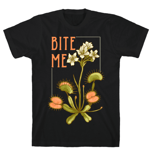 Bite Me Venus Flytrap Mens/Unisex T-Shirt