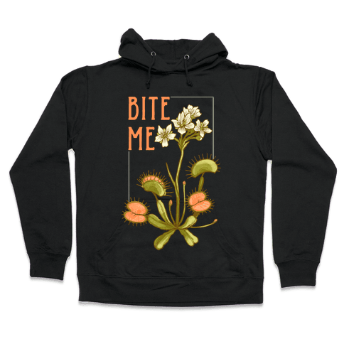 Bite Me Venus Flytrap Hooded Sweatshirt