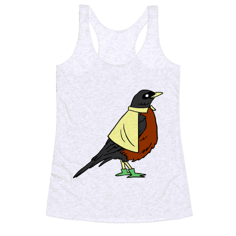 THE BIRD WONDER Racerback Tank Top