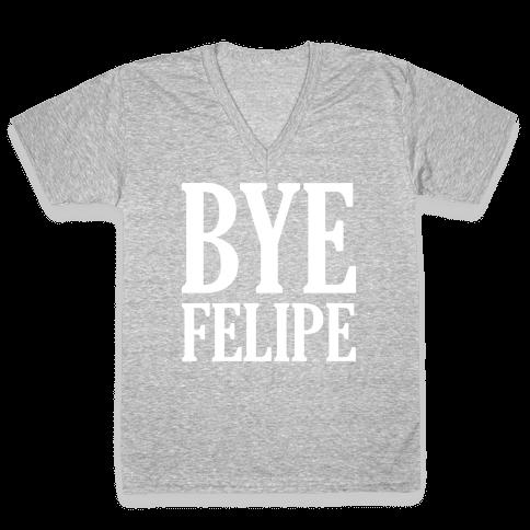 Bye Felipe V-Neck Tee Shirt