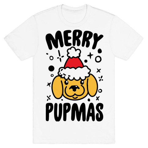 Merry Pupmas Mens T-Shirt