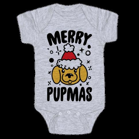 Merry Pupmas Baby Onesy