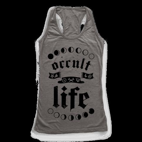 Occult Life Racerback Tank Top