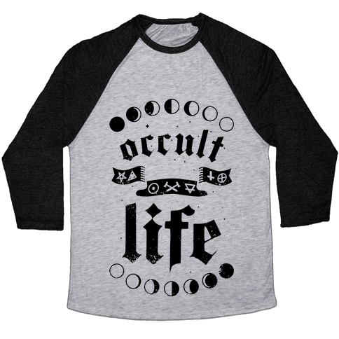 Occult Life Baseball Tee