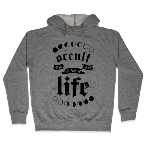 Occult Life Hooded Sweatshirt