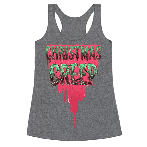 Christmas Creep Racerback Tank Top
