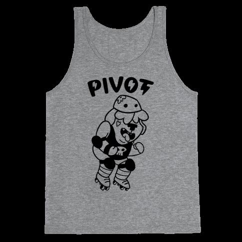 Pivot (Roller Derby) Tank Top