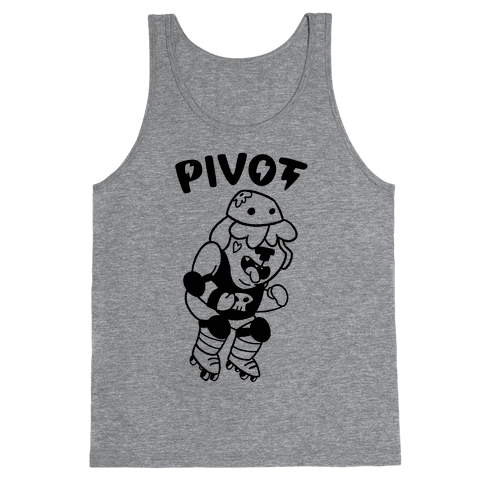Pivot (Roller Derby) Tank Top