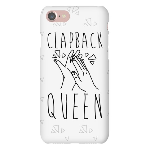 Clapback Queen Phone Case