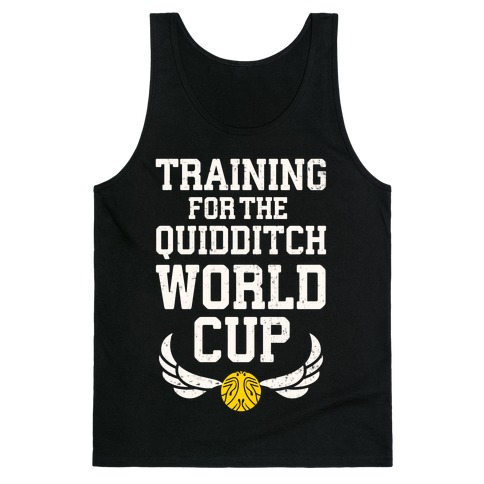 Training For The Quidditch World Cup Tank Top