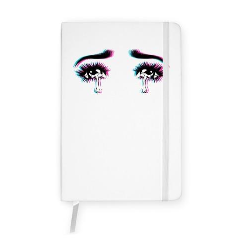 Anime Tears Notebook