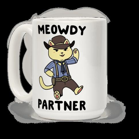 Meowdy, Partner - Arthur Morgan Coffee Mug