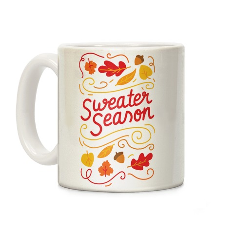 Sweater Season Coffee Mug