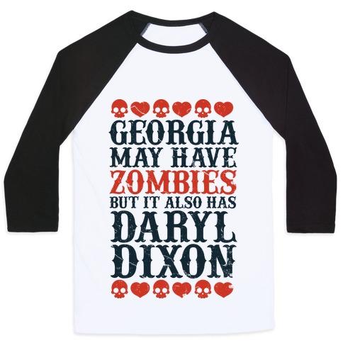 Georgia Has Daryl Dixon Baseball Tee