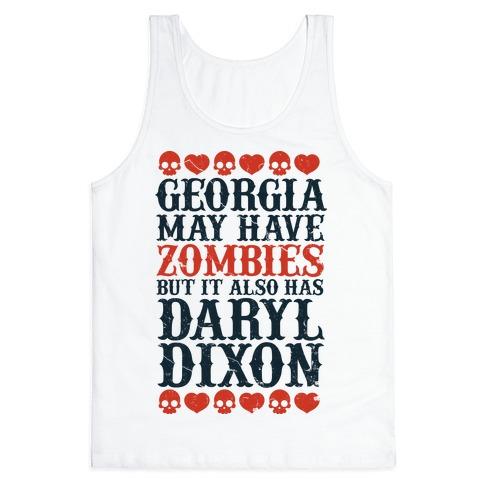 Georgia Has Daryl Dixon Tank Top