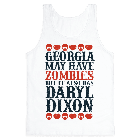 Georgia Has Daryl Dixon Tank Top