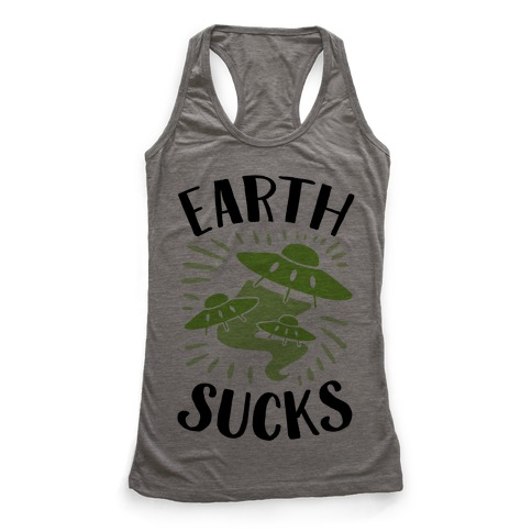 Earth Racerback Tank Top