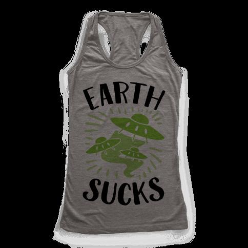 Earth Racerback Tank Top