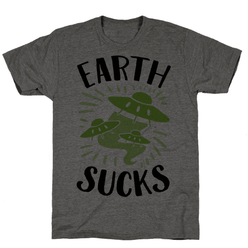 Earth Mens T-Shirt