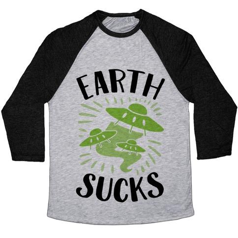 Earth Baseball Tee