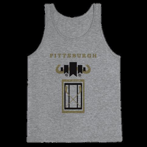 Pittsburgh Stadium Hockey Fan Tank Top