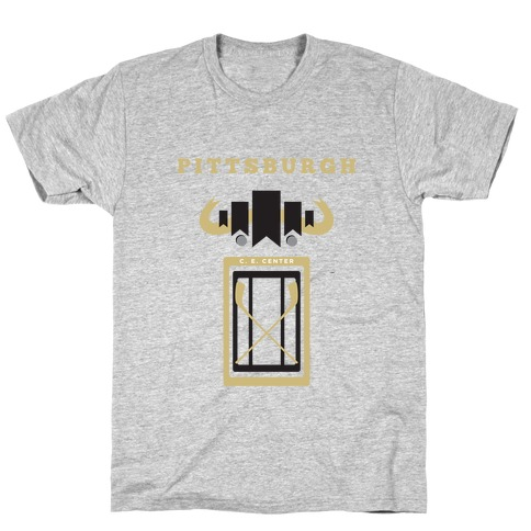 Pittsburgh Stadium Hockey Fan T-Shirt