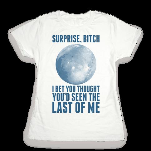 Surprise, Bitch (Pluto) Womens T-Shirt