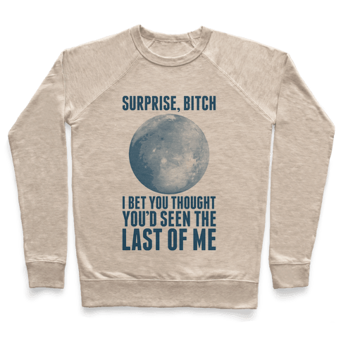 Surprise, Bitch (Pluto) Pullover