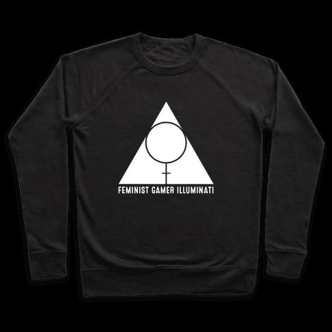 Feminist Gamer Illuminati Pullover