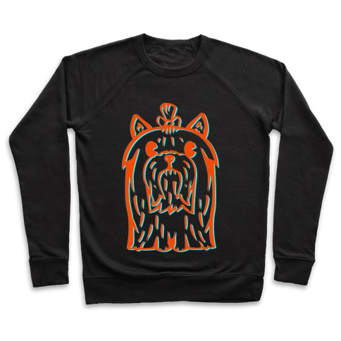 Yorkshire Terrier Vintage Illustration Pullover
