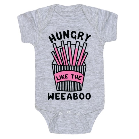 Hungry Like The Weaboo Baby Onesy