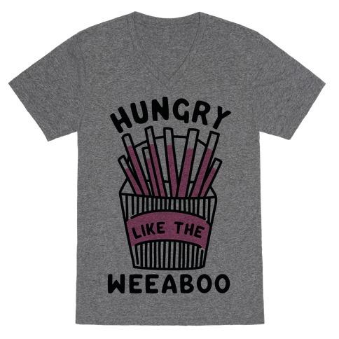 Hungry Like The Weaboo V-Neck Tee Shirt