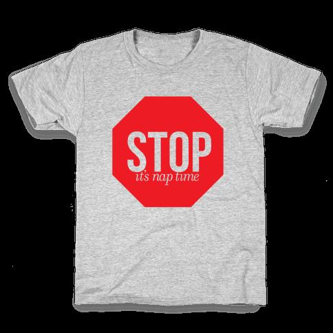 It's Nap Time Kids T-Shirt