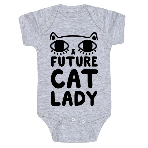 Future Cat Lady Baby Onesy