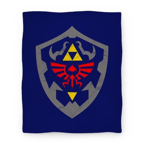 Hylian Shield Blanket Blanket