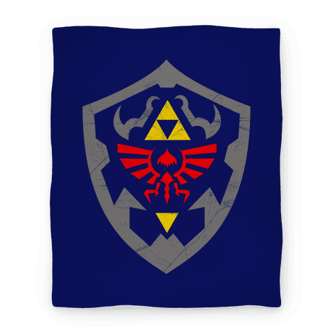 Hylian Shield Blanket Blanket
