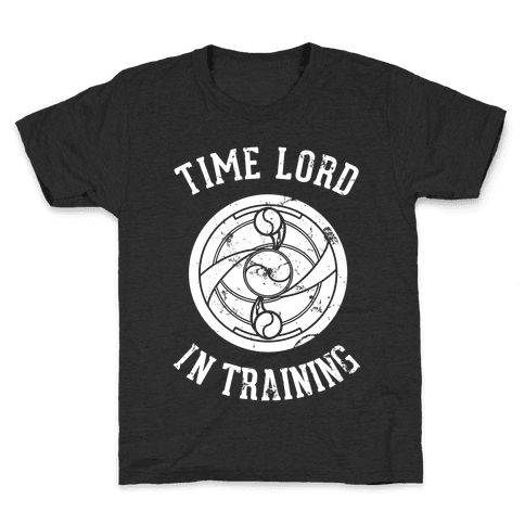 Time Lord In Training Kids T-Shirt