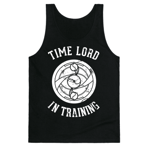Time Lord In Training Tank Top