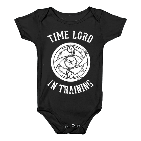 Time Lord In Training Baby Onesy