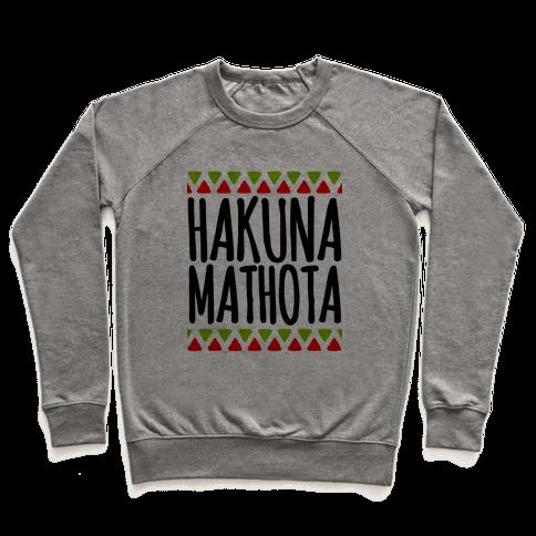 Hakuna MaTHOTa Pullover