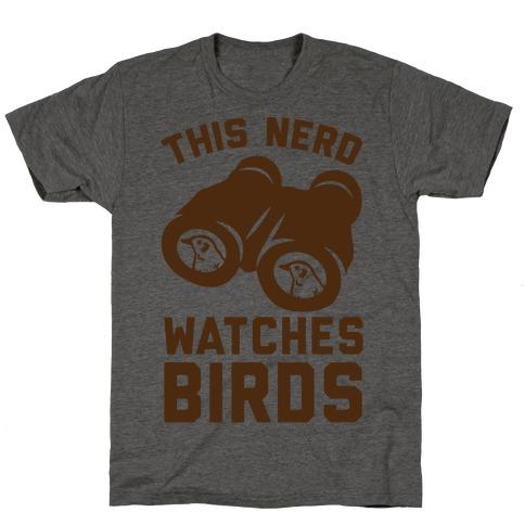 This Nerd Watches Birds T-Shirt