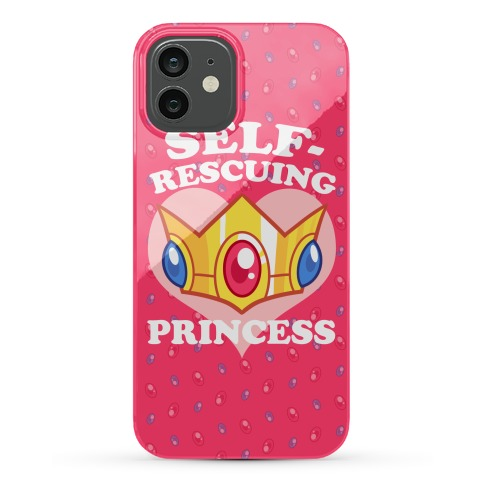 Self-Rescuing Princess Phone Case