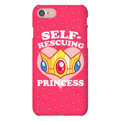 Self-Rescuing Princess Phone Case