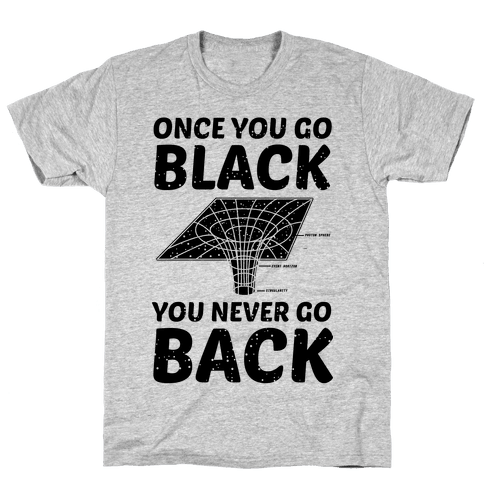 Once You Go Black You Never Go Back Mens T-Shirt