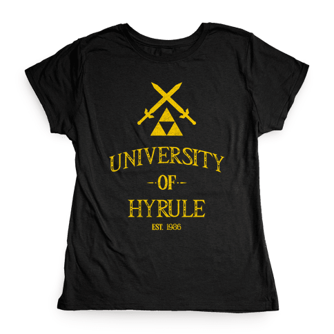 University of Hyrule Womens T-Shirt