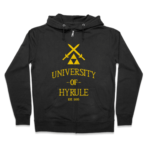 University of Hyrule Zip Hoodie