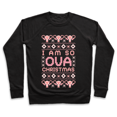 I Am So OVA Christmas Pullover
