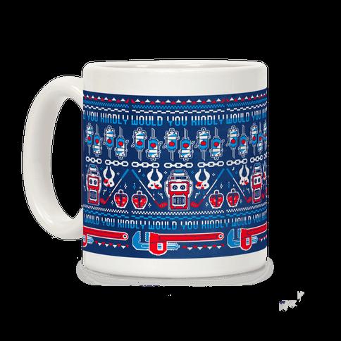 Bioshock Pixel Sweater Coffee Mug