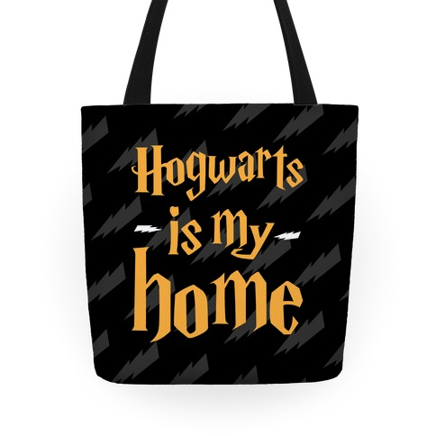 Hogwarts Is My Home Tote Tote